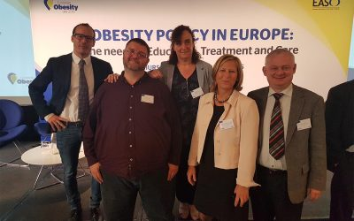 Patient advocates Sven Schubert and Susie Birney attended and spoke at the European Policy Conference in Brussels