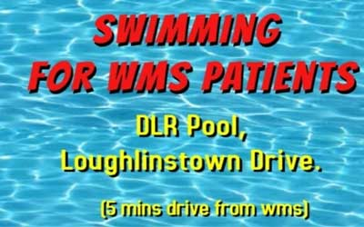 Swimming for Weight Management Service Patients